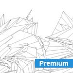 Wireframe C4D renders