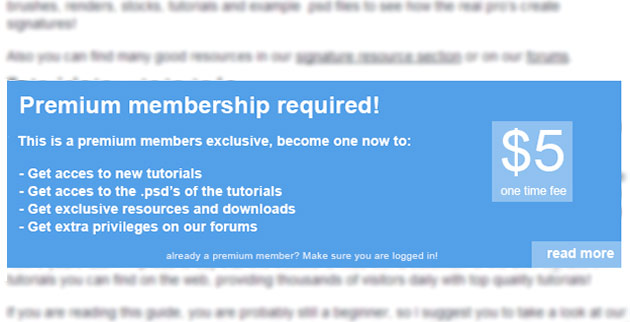 premium-membership-required